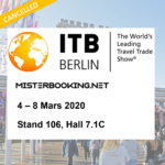 [Cancelled] Meet us at international show ITB Berlin, 4 – 8 March 2020