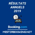 Les résultats 2019 de Booking.Com en croissance sur notre channel manager natif !