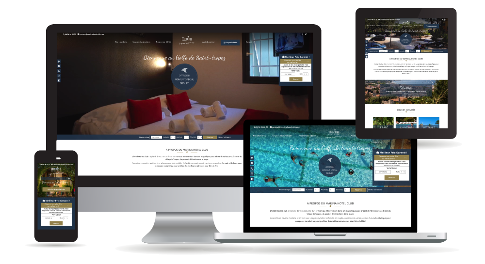 myWebSign - websites creation for hotels