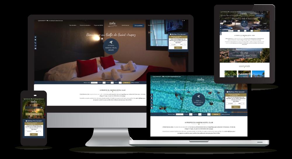 myWebSign - création sites Internet Hôtel