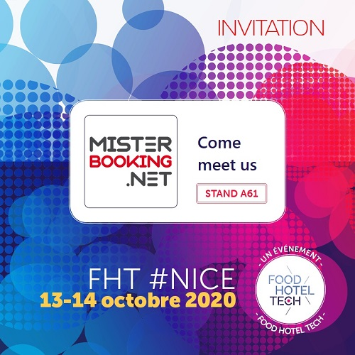 Meet our team at the show FHT Nice in France, October 2020
