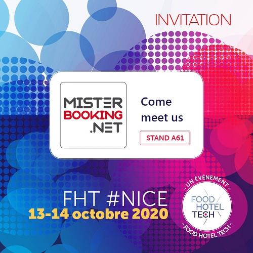 Retrouvez notre équipe au FHT Méditerranée à Nice les 13 et 14 Octobre 2020