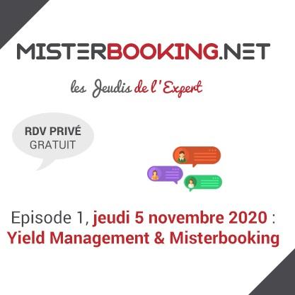 Reconfinement : Misterbooking & Alain MARTY lancent «Les jeudis de l'expert» pour soutenir les clients
