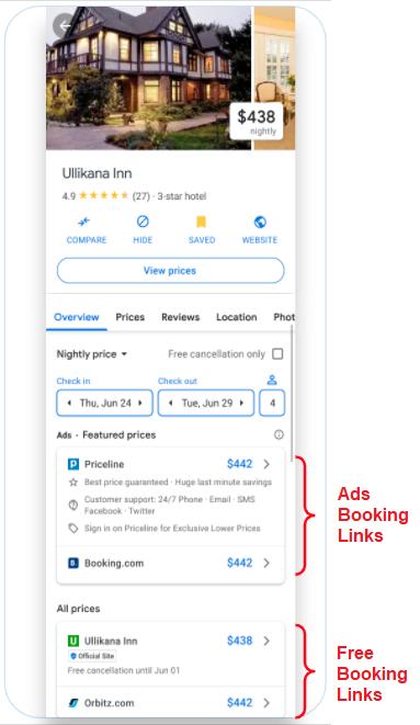 google-hotel-misterbooking-pms-integration-free-booking-links-details