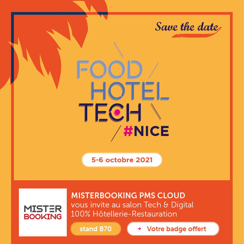 Booth B70 at FHT Nice, event in France in October 2021